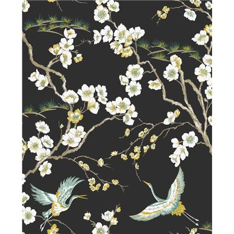 Super Fresco Easy kabuki wallpaper japan floral 105984