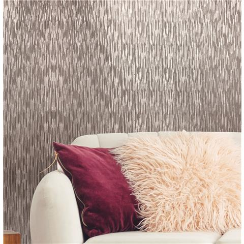 Sublime Theia Wallpaper Stria Rose Gold 106457