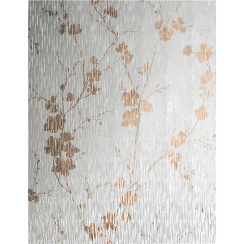 Sublime Theia Wallpaper Blossom Rose Gold 106601