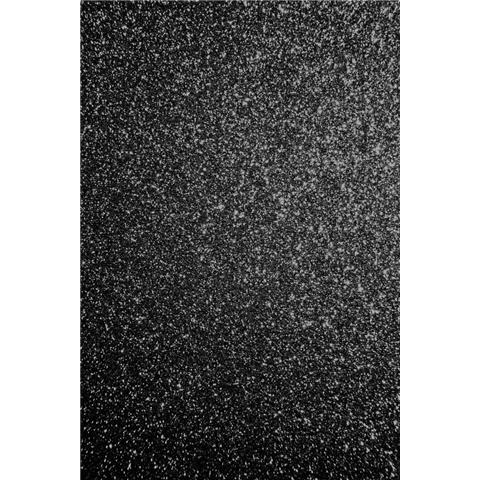 GLITTER BUG DECOR disco WALLPAPER 25 METRE ROLL GLd432 black