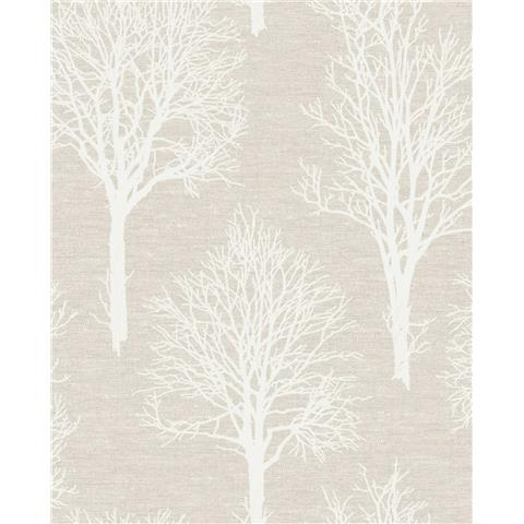 Tranquillity Landscape Wallpaper by Boutique 106664 Taupe