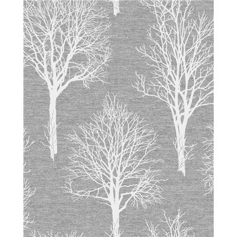 Tranquillity Landscape Wallpaper by Boutique 106665 Charcoal