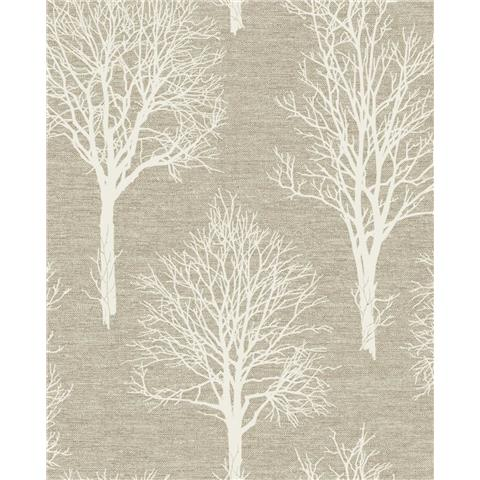 Tranquillity Landscape Wallpaper by Boutique 106667 Caramel