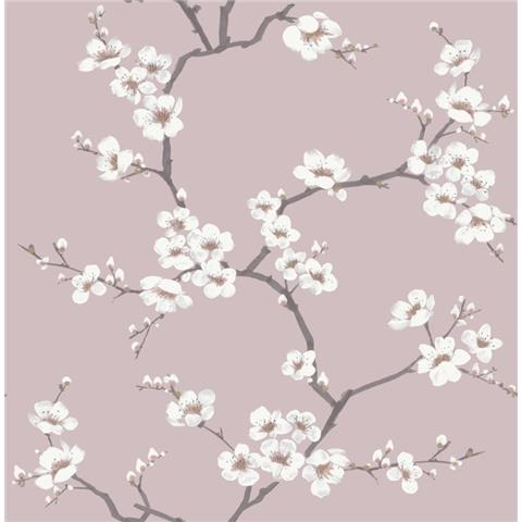 Graham and Brown Fresca Wallpaper Apple Blossom 108290 Pink