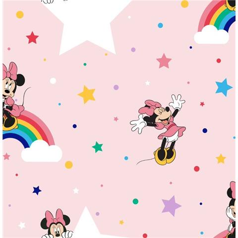 Minnie Rainbow Wallpaper 108592