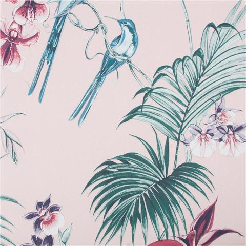 JULIEN MACDONALD Utopia exotic WALLPAPER 111780 pink