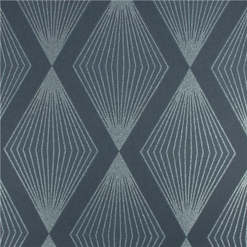 Julien Macdonald Chandelier Diamond Wallpaper 111782 Navy