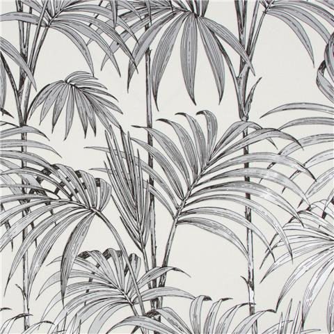 Julien Macdonald Honolulu Palm Wallpaper 112084 Silver