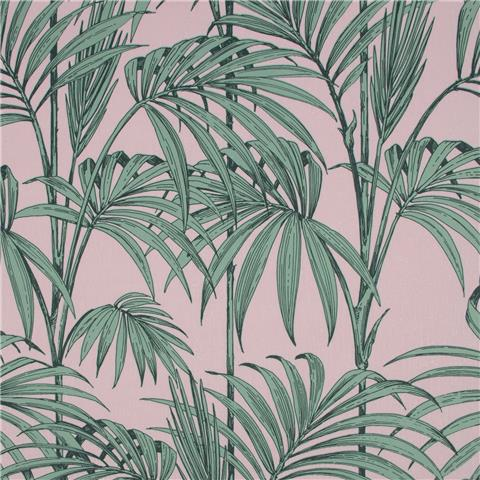 Julien Macdonald Honolulu Palm Wallpaper 112085 Pink