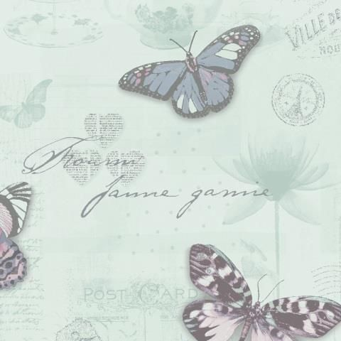 Butterfly Collage Wallpaper 11372
