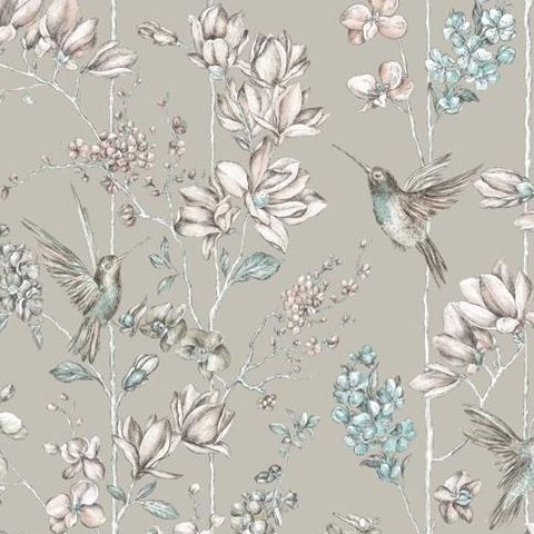 Statement Charm Hummingbirds Wallpaper Gilver 12394