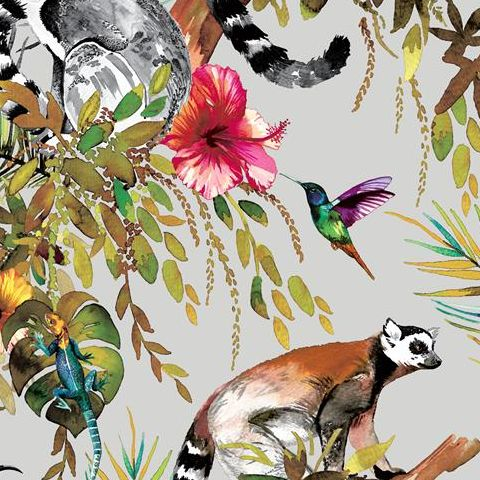 Holden Statement Feature Wallpapers Lemur 12401 Silver