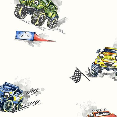 Make Believe Wallpaper- Monster Trucks 12510