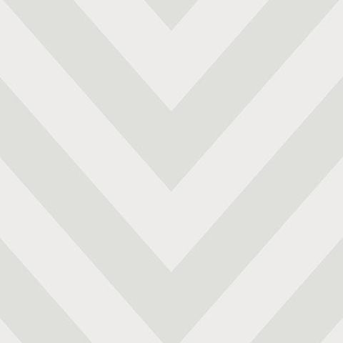 Make Believe Wallpaper- Chevron 12571 Grey