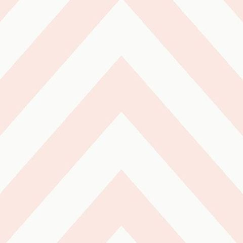 Make Believe Wallpaper- Chevron 12572 Pink