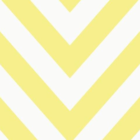 Make Believe Wallpaper- Chevron 12573 Yellow