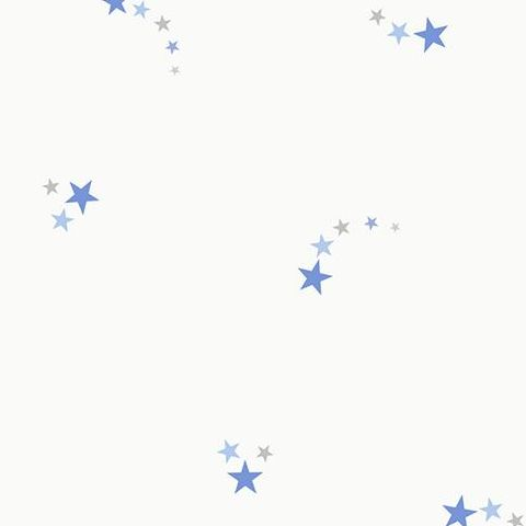 Make Believe Wallpaper- Shooting Star 12590 Blue