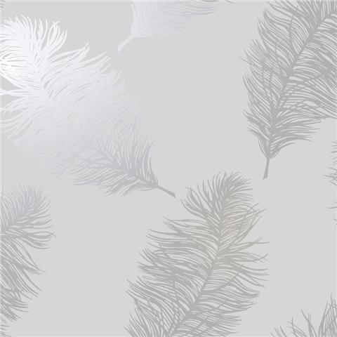 STATEMENT FEATURE WALLPAPER-FAWNING FEATHER 12626
