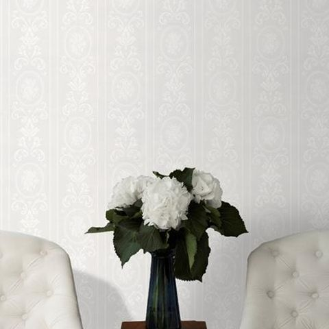 Super Fresco Paintable Wallpaper Cameo Stripe 14011