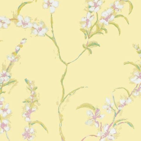 Anna French Lyric Wallpaper-Japonica AT1421