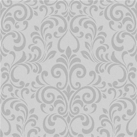 Lipsy Luxe Damask Wallpaper 144801 Silver