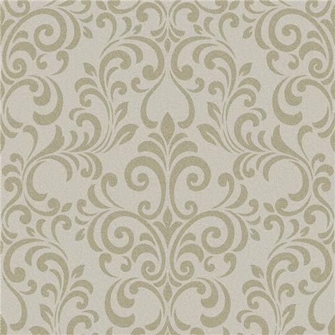 Lipsy Luxe Damask Wallpaper 144802 Champagne