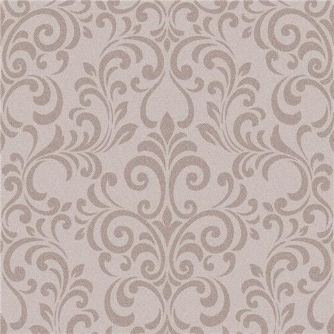 Lipsy Luxe Damask Wallpaper 144803 Rosegold