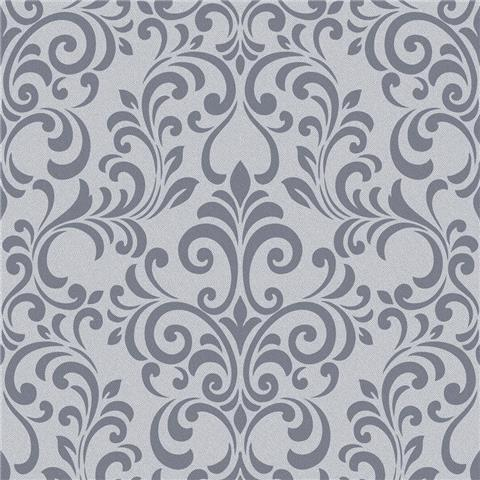 Lipsy Luxe Damask Wallpaper 144804 Charcoal