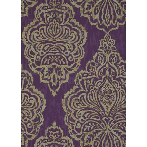 Prestigious Textiles origin wallpaper zellige 1641-632 jewel