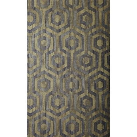 Prestigious Textiles Elements Wallpaper Quartz 1647-635 topaz