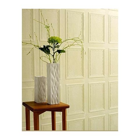 Lincrusta Wallpaper RD1650FR Georgian Panel