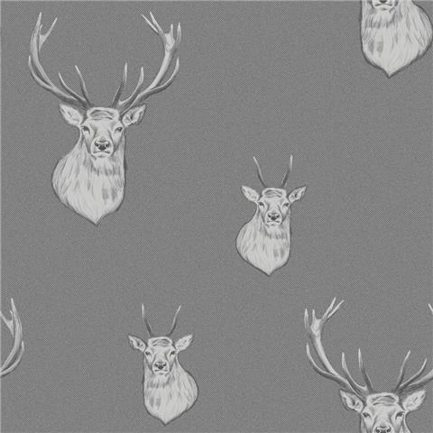 Catherine Lansfield Stag Wallpaper 165513