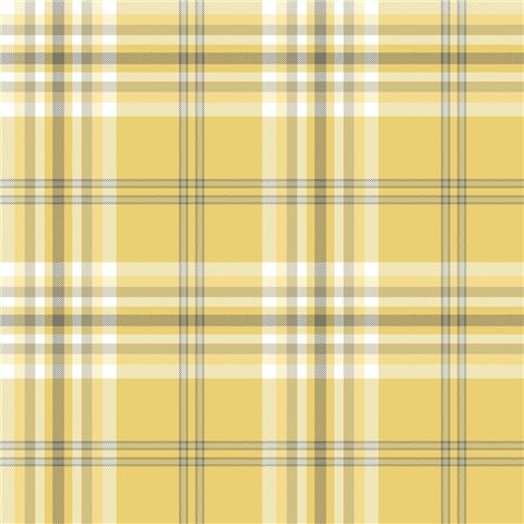 Catherine Lansfield Kelso Check Plaid Wallpaper 165520