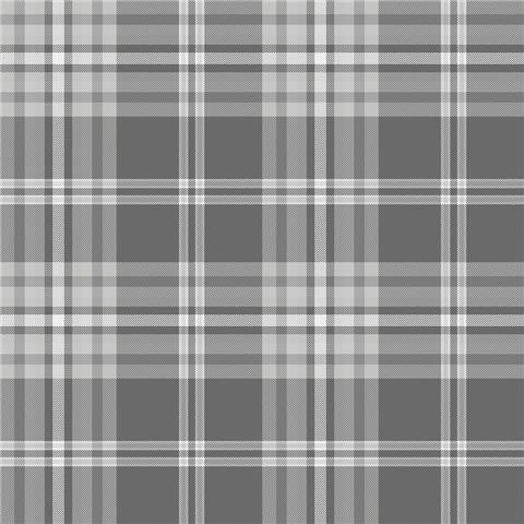 Catherine Lansfield Kelso Check Plaid Wallpaper 165523