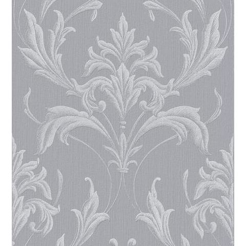 Graham and Brown Vinyl Wallpaper Oxford 20-957 Silver Grey