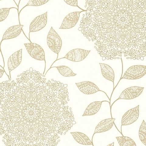 Kenneth James Alhambra Wallpaper-Shirazi Floral 21319