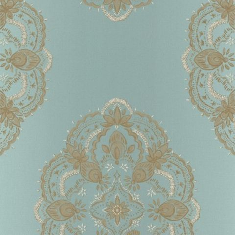 Kenneth James Alhambra Wallpaper-Mirador Medallion 21334