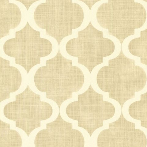 Kenneth James Alhambra Wallpaper-Palace Quatrefoil 21352