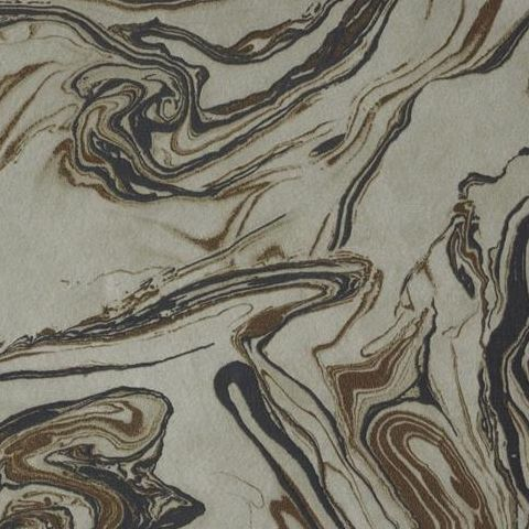 Kenneth James Insignia Marble Wallpaper Bronze/Chocolate FD24457