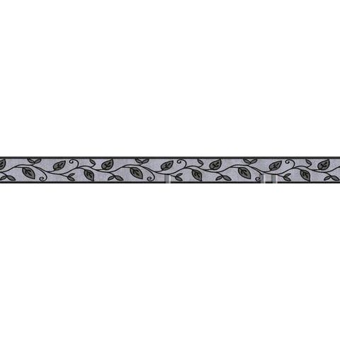 Self Adhesive Textured Border 2622-19 black/Grey