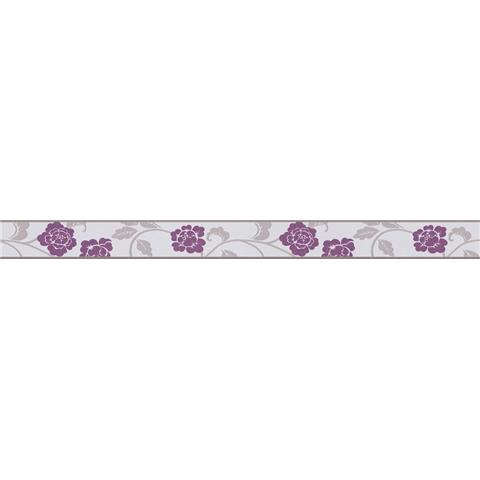 Self Adhesive Textured Border 2820-26 Purple
