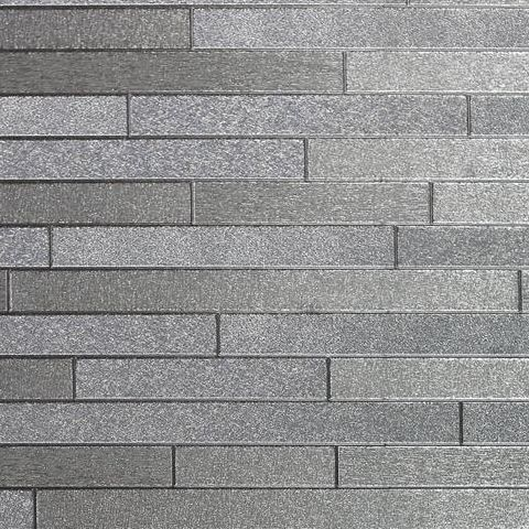 Arthouse Vintage Foil Wallpaper-Slate 294600 Silver