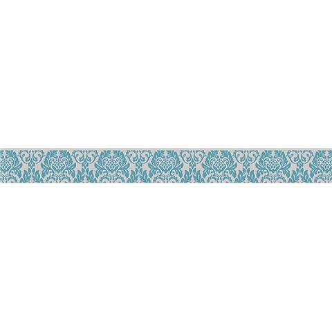 SELF ADHESIVE TEXTURED BORDER 30389-1 duck egg