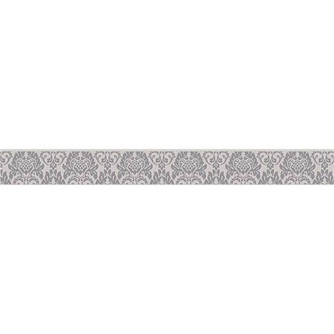 SELF ADHESIVE TEXTURED BORDER 30389-2 grey