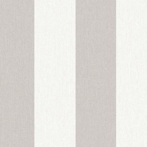 Super Fresco Easy Innocence Wallpaper Calico Stripe 32-678 Natural