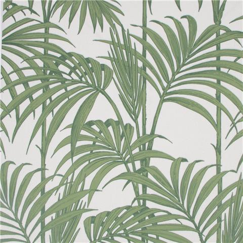 Julien Macdonald Honolulu Palm Wallpaper 32-969 Green