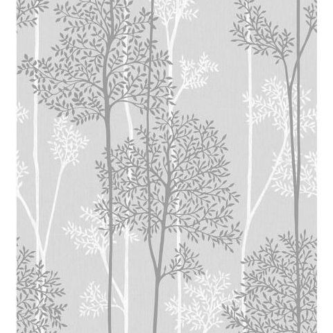 Super Fresco Easy Innocence Wallpaper Eternal 33-287 Grey