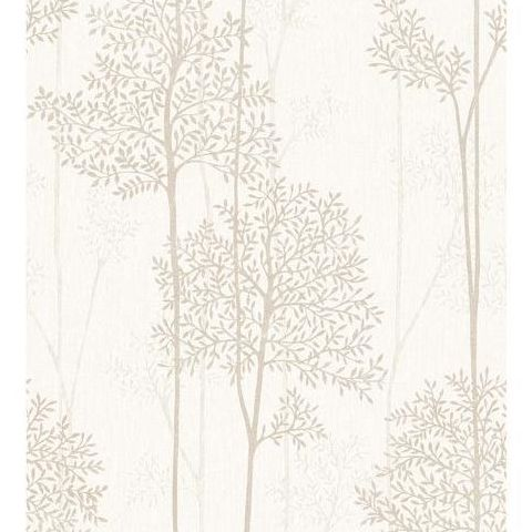 Super Fresco Easy Innocence Wallpaper Eternal 33-291 Cream and Gold