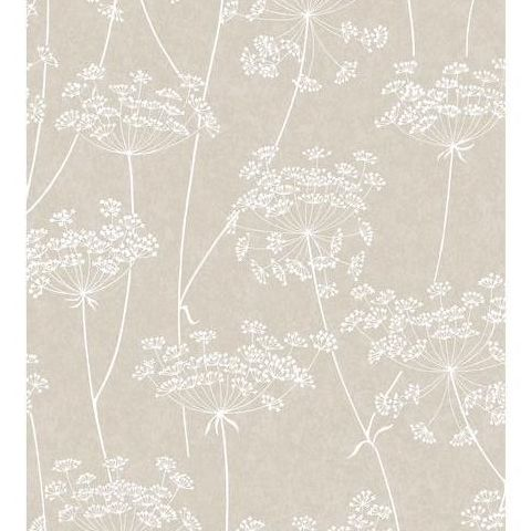 Super Fresco Easy Innocence Wallpaper Aura 33-301 Taupe