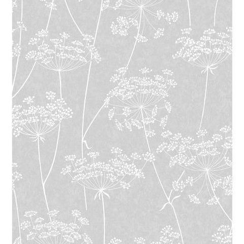 Super Fresco Easy Innocence Wallpaper Aura 33-304 Grey